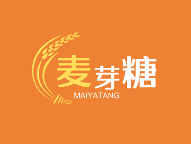 卡通麦子图案图标标志logo设计
