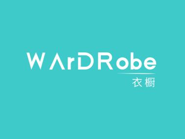 青色简约时尚服装店铺字母logo设计