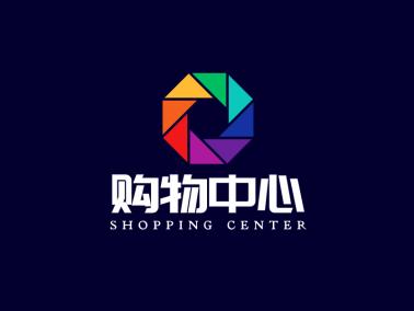 简约商场购物中心 logo设计