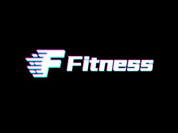 黑色灯光阴影炫酷字母logo设计