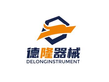 简约龙器械制造logo设计
