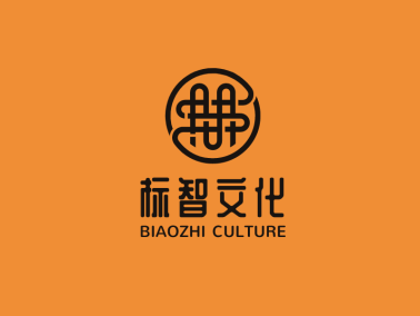 传统中国结文化传媒公司logo设计