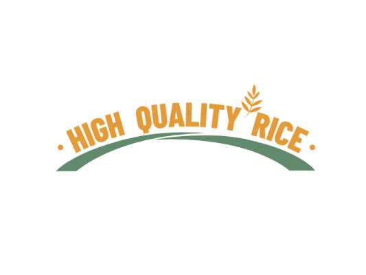 橙色创意农产品植物logo设计