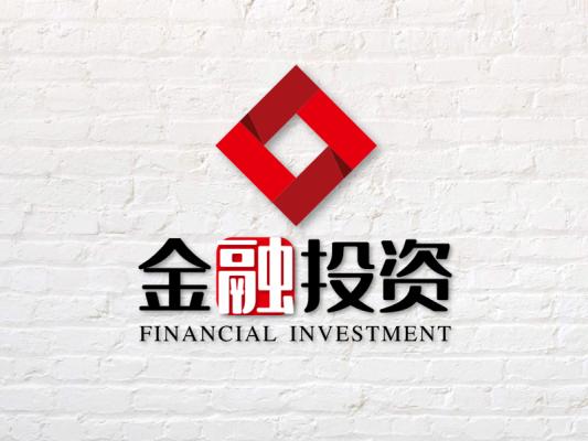 红色简约商务投资类公司标志设计