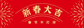 春节不打烊美团海报 banner