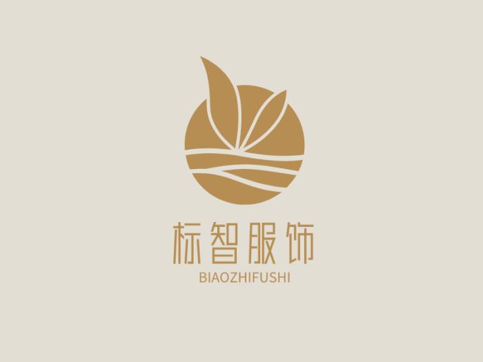 清新文艺女装服饰美妆店铺logo设计