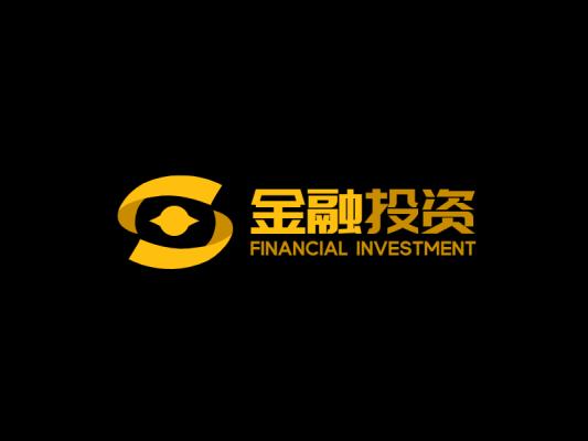 金色高端大气商业简约金融行业公司企业logo设计