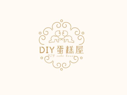 创意欧式花边蛋糕店logo设计