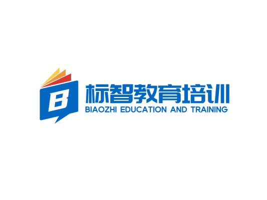蓝色简约教育培训公司logo设计