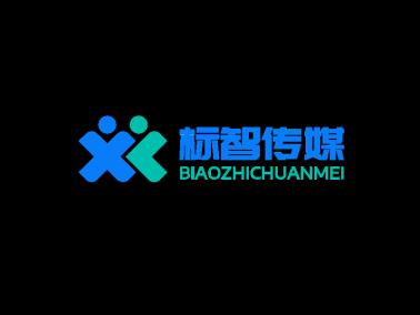 藍色簡約公司logo設計