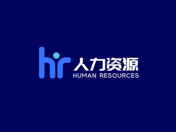 蓝色简约商务公司logo设计