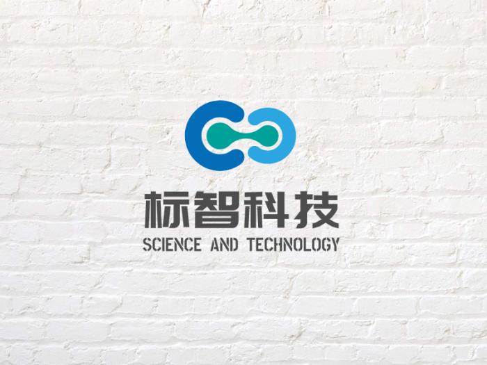 灰色简约商务科技公司logo设计