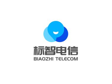 藍色創意商務公司logo設計
