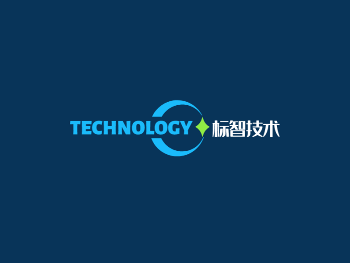 蓝色创意商务公司logo设计