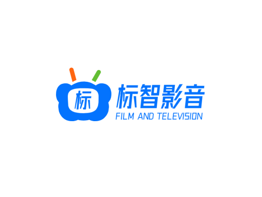 简约创意电视影音logo设计