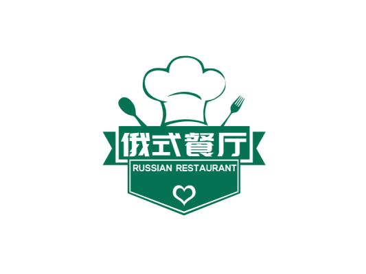 创意徽章餐饮logo设计