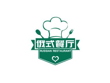 創意徽章餐飲logo設計