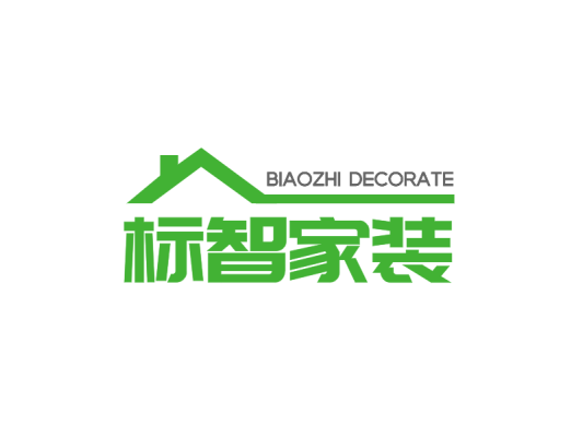 绿色简约商业家居家装公司logo设计