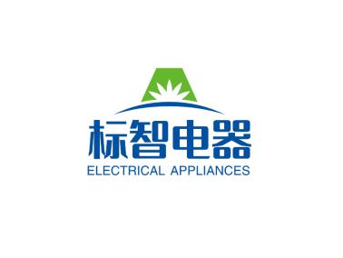 蓝色简约创意商务电器logo设计