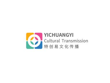 彩色簡約創意公司logo設計