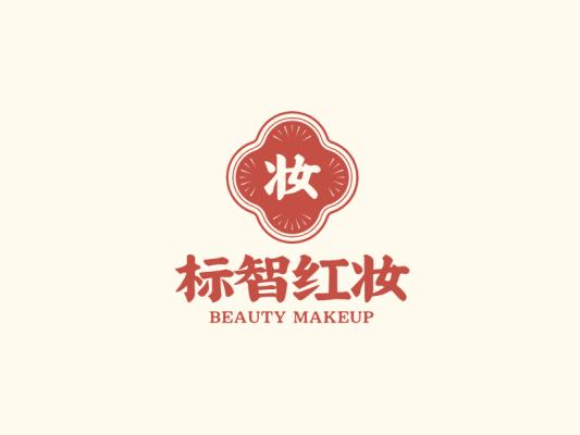 红色中式复古传统logo设计