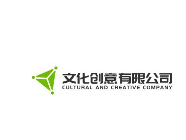 綠色簡約創意公司logo設計