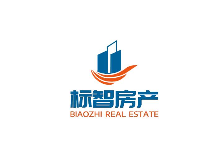 簡約建筑房產logo設計