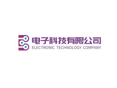 簡約字母B電子科技公司logo設計