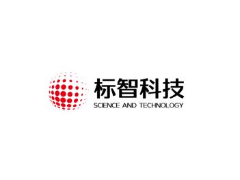 红色创意商务科技logo设计