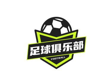 創意徽章足球俱樂部logo設計