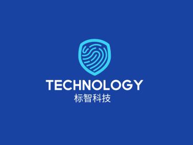 創意簡約科技logo設計
