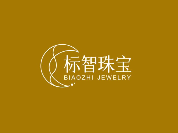 簡約奢華首飾珠寶logo設計