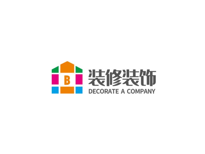 簡約裝修建筑logo設計