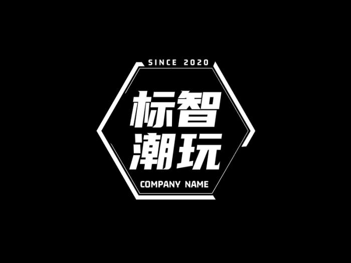 创意酷炫徽章logo设计