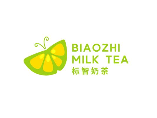 文艺清新蝴蝶logo设计