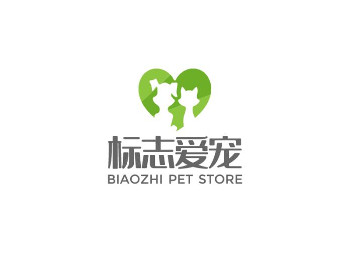简约动物宠物logo设计