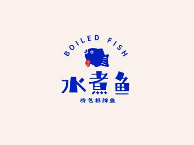 创意餐饮鱼logo设计