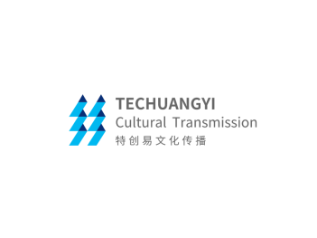 简约商务传媒公司logo设计