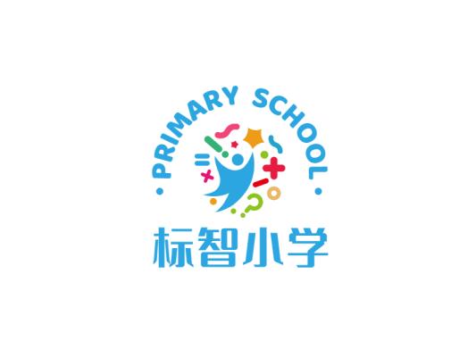 创意卡通学学校教育logo设计