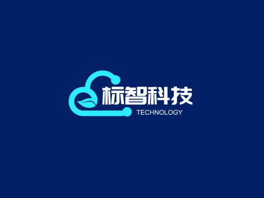 簡約商務科技公司logo設計