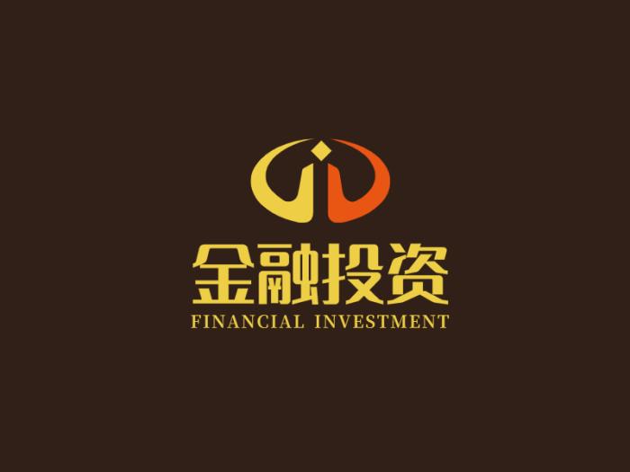 简约金融logo设计