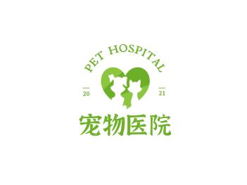 简约动物logo设计
