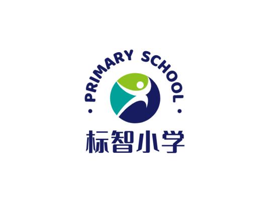 简约活泼学校教育logo设计