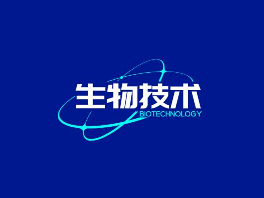 简约生物公司logo设计